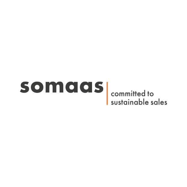 somaas committed to sustainable sales Logo
