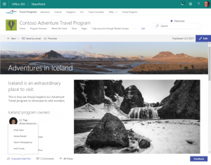 SharePoint - Like, View, Comment