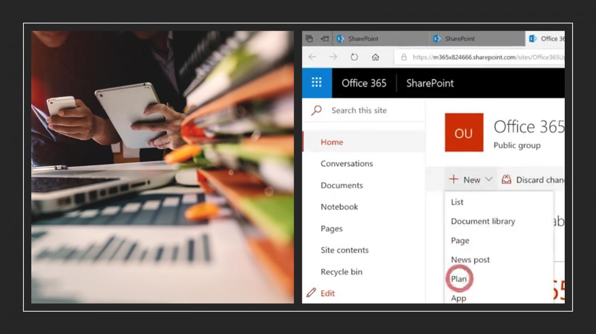 Microsoft Planner und SharePoint machen Organisieren leicht