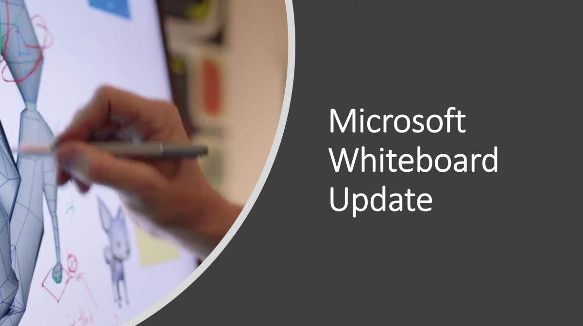 Microsoft Office 365 Whiteboard Update