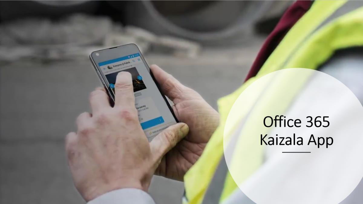 Office 365 Kaizala App