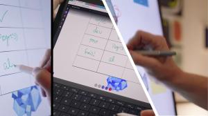 Whiteboard App Interaktives Arbeiten mit Tabellen
