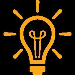 Idee Glübirne Icon