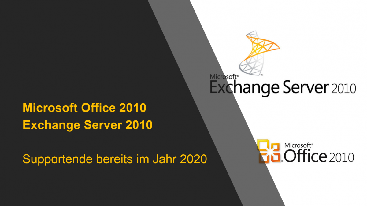Support Ende für Office 2010 und Exchange Server 2010