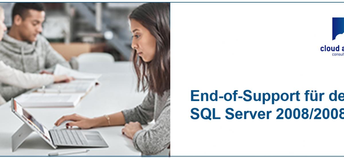 SQL Server 2008/2008 R2 bereits außer Wartung