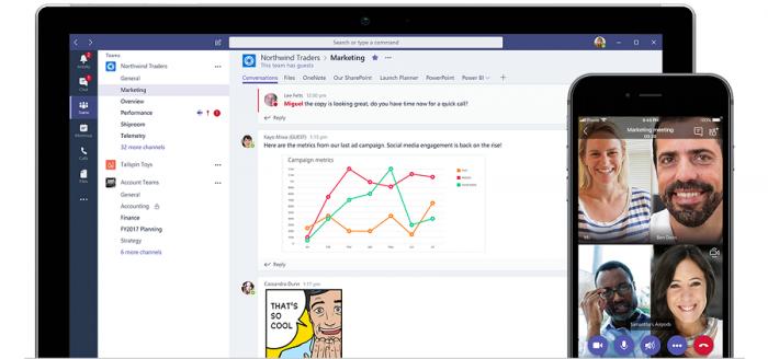 Microsoft Teams als Kommunikationsplattform