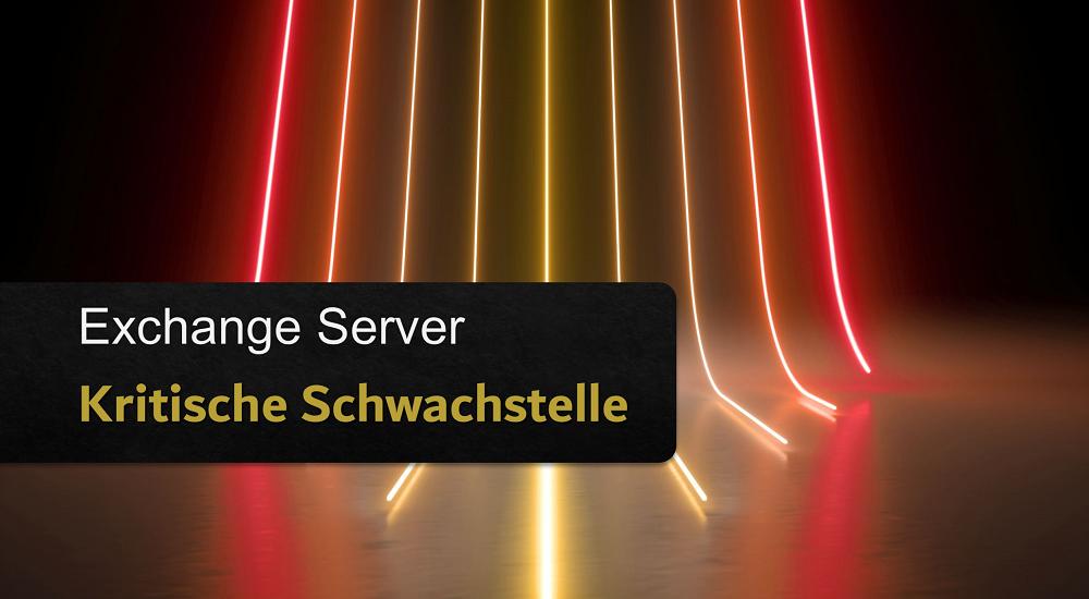 Sicherheitslücke beim MS Exchange Server