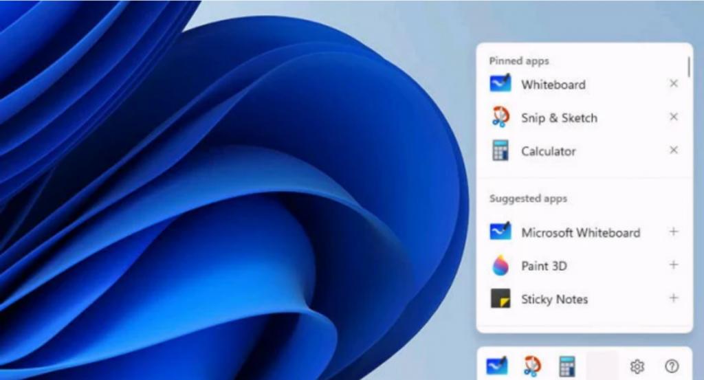Start-Screen Windows 11